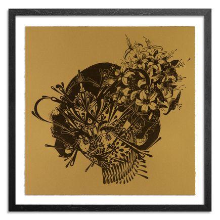 Stinkfish Art Print - The Flower Girl 1949 - Gold Edition