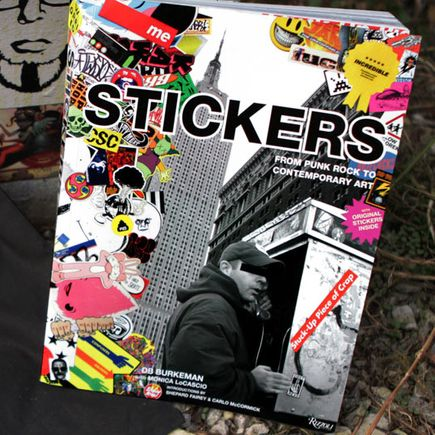 DB Burkeman Art - STUCK UP Paperback Book