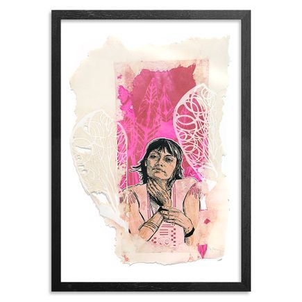 The Heliotrope Foundation Art Print - Swoon - Irina