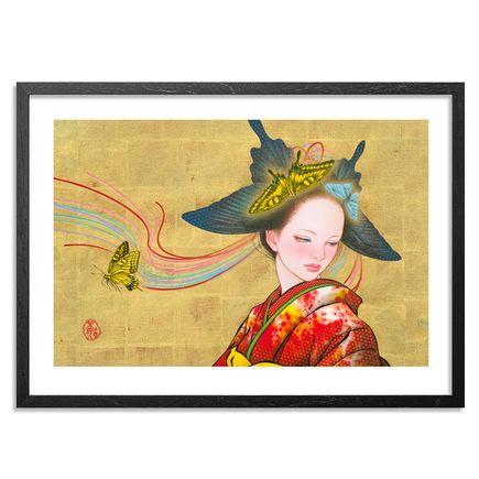 Tamura Yoshiyasu Art Print - Bow