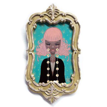 Tara McPherson Original Art - Omniscient