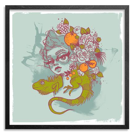 Tatiana Suarez Art Print - Flora Hand-Embellished Edition