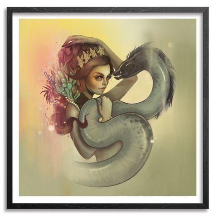 Tatiana Suarez Art Print - Seduccion De Anguila