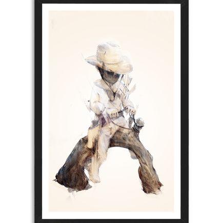 Taylor White Art Print - Cowboy