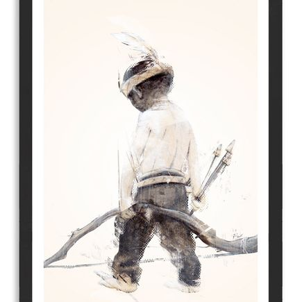 Taylor White Art Print - Indian