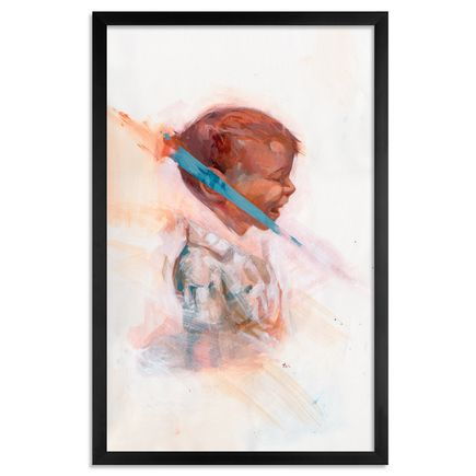 Taylor White Original Art - Tantrum - Original Painting