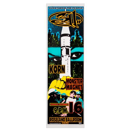 Kozik Art - 311 - November 16th, 1995 at Roseland Ballroom