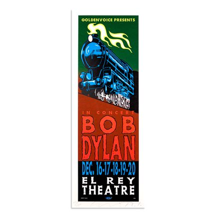 Jim Evans / Taz Art - Bob Dylan - December 16th & 20th at El Rey Theatre