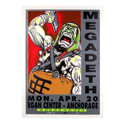Jim Evans / Taz Art - Megadeath - April 20th, 1998 at The Egan Center