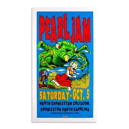 Jim Evans / Taz Art - Pearl Jam - October 5th at North Charleston Coliseum, Charleston SC