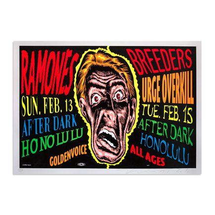 Jim Evans / Taz Art - Ramones - Feburary 13th & 15th, 1993 at After Dark