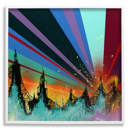 Tead Original Art - Acid City Vol. 2 : Pure Bliss III