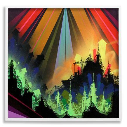Tead Original Art - Acid City Vol. 2 : Pure Bliss IV