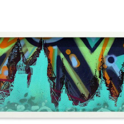 Tead Original Art - Acid City Vol. 2 VIII