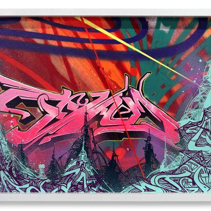 Tead Original Art - Double Leaning Jowler 2