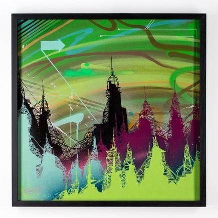 Tead Original Art - Acid City Volume 3 - Original Artwork #2