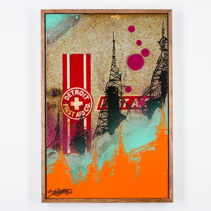 Tead Original Art - Acid City Volume 3 - Original Artwork #6