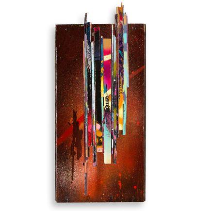 Tead Original Art - Acid City Volume 3 - Box Sculpture - Original Artwork