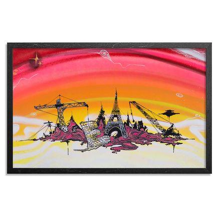 Tead Original Art - Acid City Volume 3 - Hand Embellished Screen Print #1
