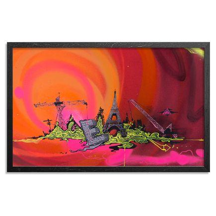 Tead Original Art - Acid City Volume 3 - Hand Embellished Screen Print #2