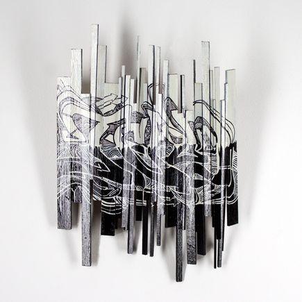 Tead Original Art - Acid City Volume 3 - Sculpture #1 - Original Artwork