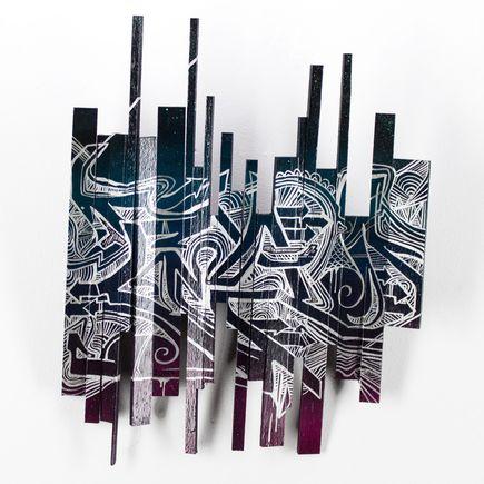 Tead Original Art - Acid City Volume 3 - Sculpture #5 - Original Artwork
