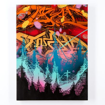 Tead Original Art - Acid City Volume 3 - Original Artwork #4