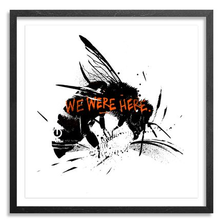Tes One Art Print - Bee Aware - Hand-Embellished Edition