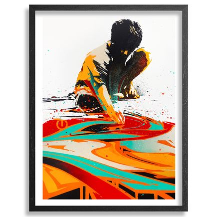 Tes One Art Print - Reflective Practice - Hand-Embellished Edition