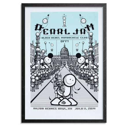 The London Police Art Print - Pearl Jam Milton Keynes<br>
