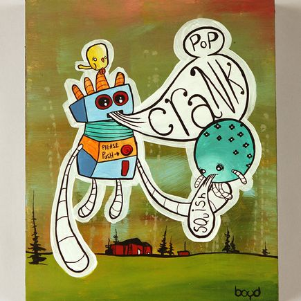 1xRUN Editions Original Art - Crank by Tim Boyd