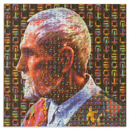 Robert Fried Art - Timothy Leary - Blotter Paper