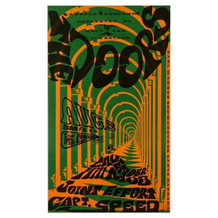 R. Tolmach Art - The Doors At Earl Warren Showgrounds<br>
