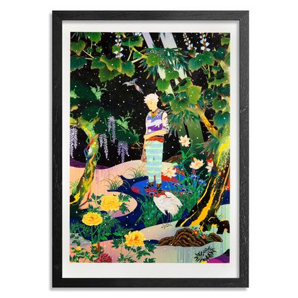 The Heliotrope Foundation Art Print - Tomokazu Matsuyama - Falling Passage