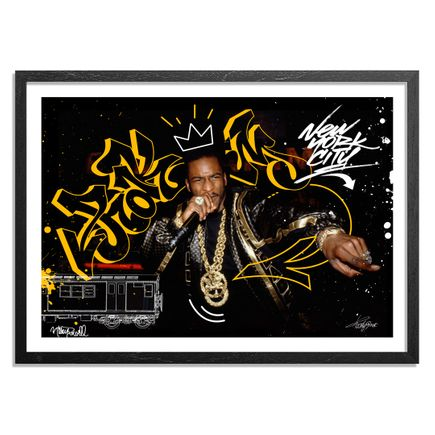 Toofly Art Print -  I Ain't No Joke - Standard Edition - Rakim - Apollo Theatre. New York City. 1988.