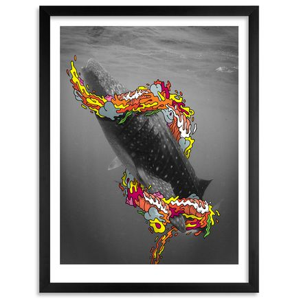 Tre' Packard + Aaron Kai Art Print - A Lot Of People Attack The Sea, I Make Love To It
