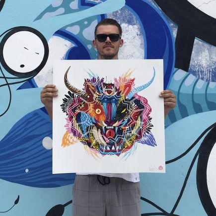 Tristan Eaton Art Print - Battle Cry
