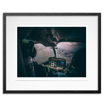 Camera Jesus Art Print - Behind The Blades