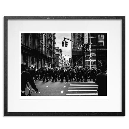 Rick Williams Art Print - Broadway Bullies