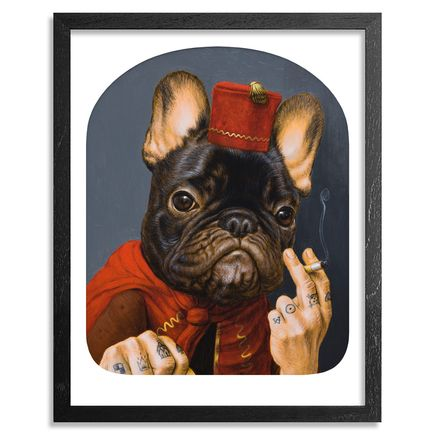 Turf One Art Print - Le Chien Qui Fume - Standard Edition