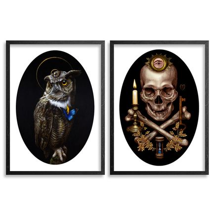 Turf One Art Print - The Owl / Rite Of Passage - 2-Print Set