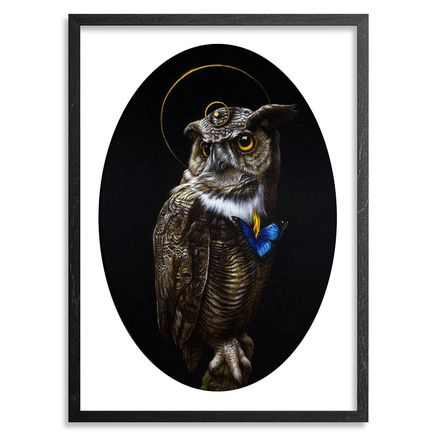 Turf One Art Print - The Owl