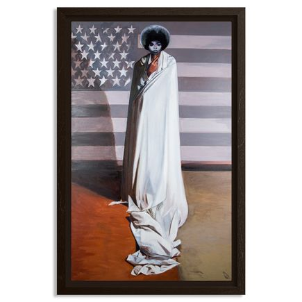 Tylonn J. Sawyer Original Art - Study For The Allegory Of Liberty