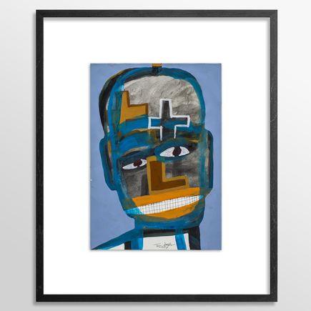 Tyree Guyton Original Art - Am I Missing Something? - Original Painting