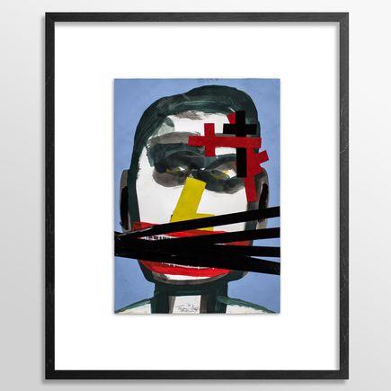 Tyree Guyton Original Art - Don't Speak Truth - Original Painting