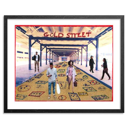 Tyree Guyton Art Print - Gold Street