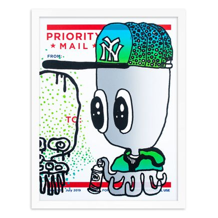 UFO907 Art Print - Label 907 - Vol. III - Silver Variant