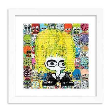 UFO907 Art Print - Never Trust A Junkie - Blotter Edition