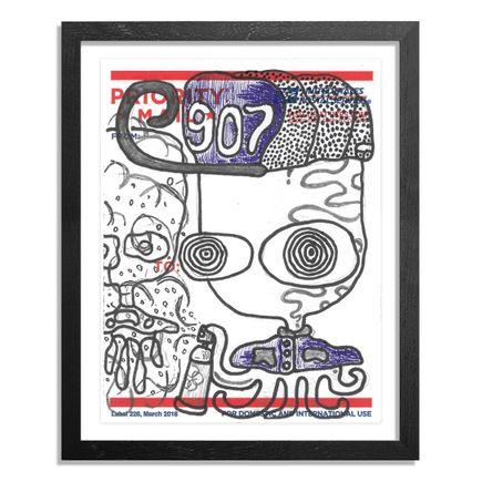 UFO907 Original Art - Postal Slap - 123