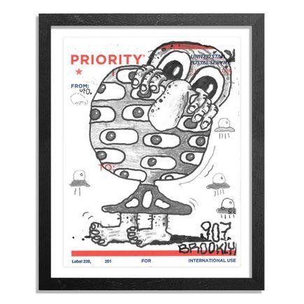 UFO907 Original Art - Postal Slap - 127
